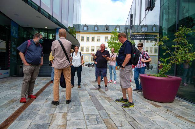 Foto Nachschau zur Exkursion CityWalk Weiz - Neufeld geht