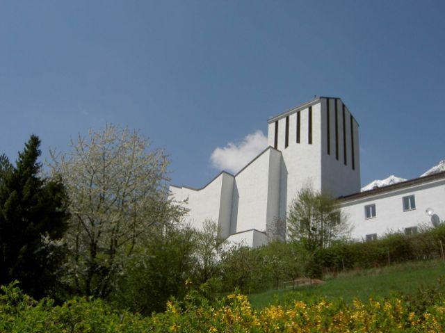 Innenraum der Pfarrkirche zum Heiligen Geist