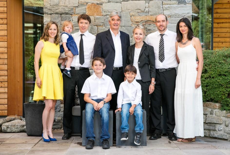 familie des besitzers des hotels
