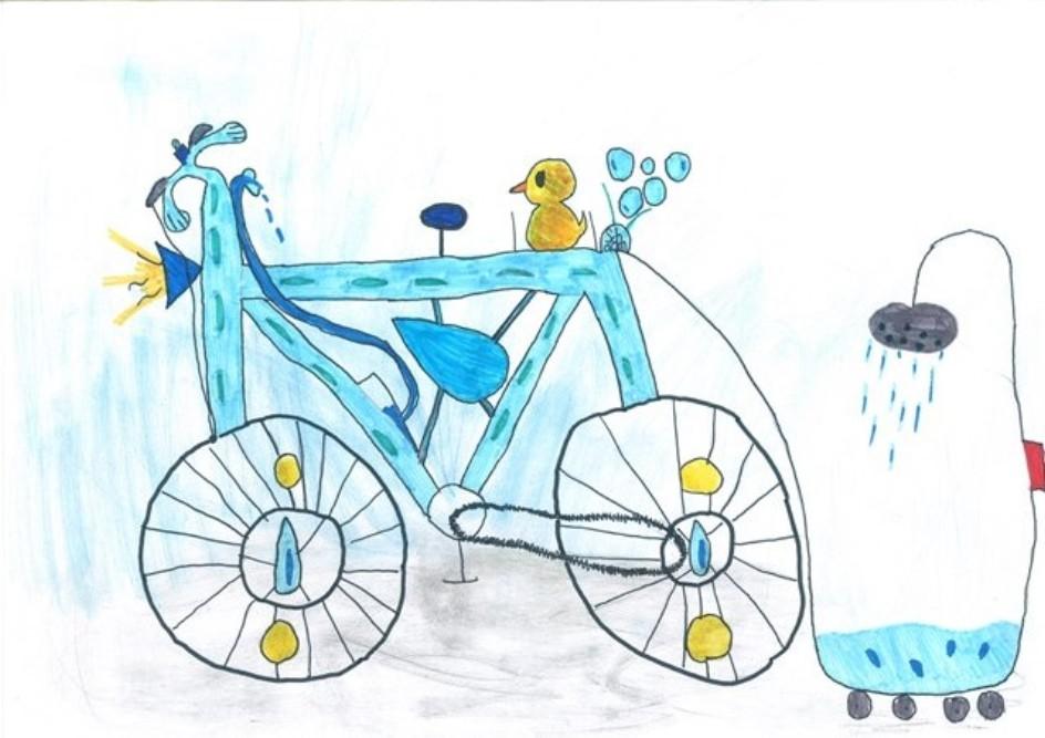 Wie sieht dein Wunschrad aus? Lea hat das SiegerInnenrad 2014 gezeichnet.
