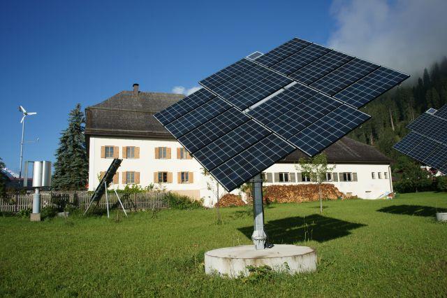 Photovoltaikanlage am Grundstück der Pfarre