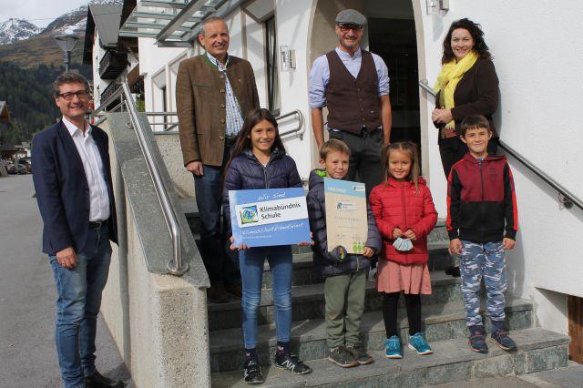 Willkommen im Klimabündnis Volksschule Serfaus!